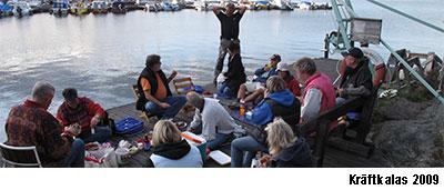 Kopparmorabåtklubb kräftkalas 2009