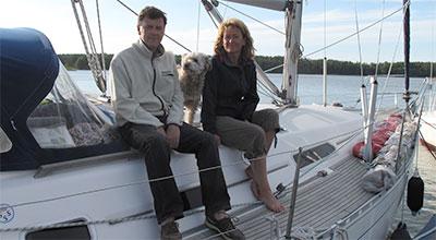 Marika och Ulf Sandholm